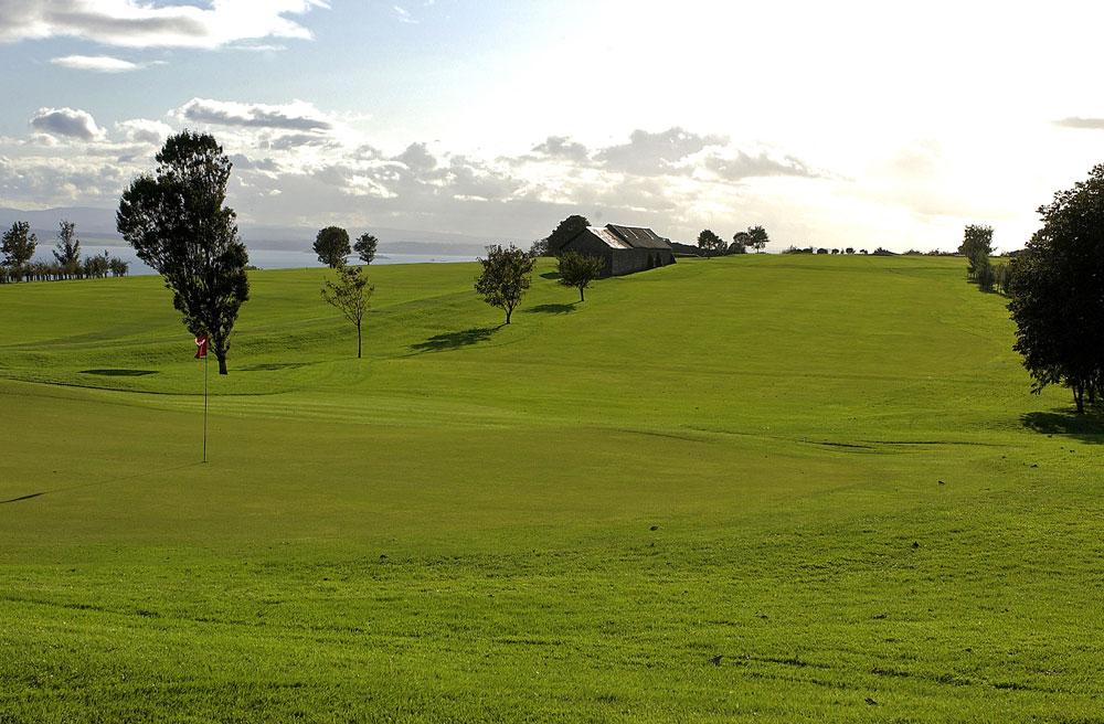 13th Fairway From Green Burntisland Golf House Club